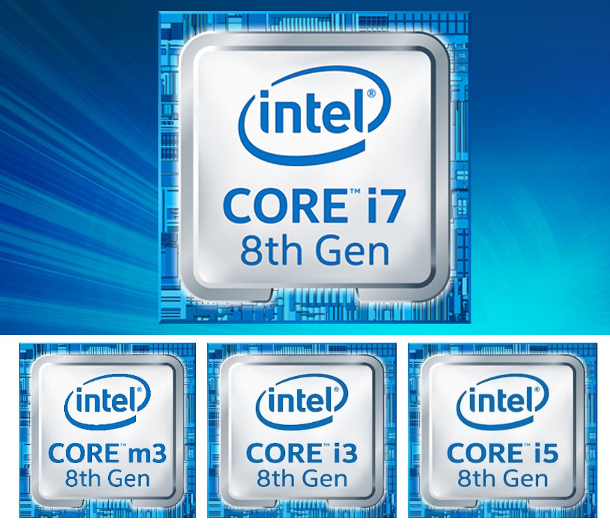 Intel introduces 8th Generation U-series Whiskey Lake and Y