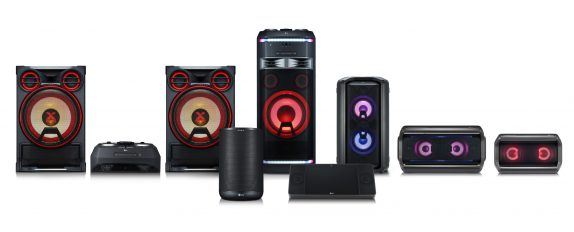 LG XBOOM Go and portable Bluetooth speakers and XBOOM AI ThinQ