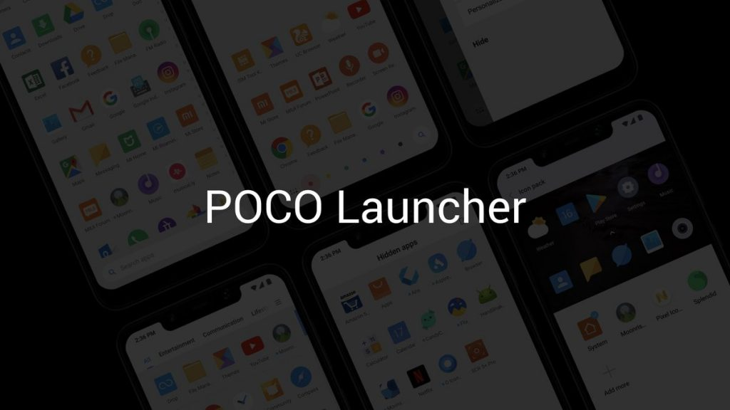 POCO Launcher (Beta) with app drawer for Xiaomi (MIUI) phones