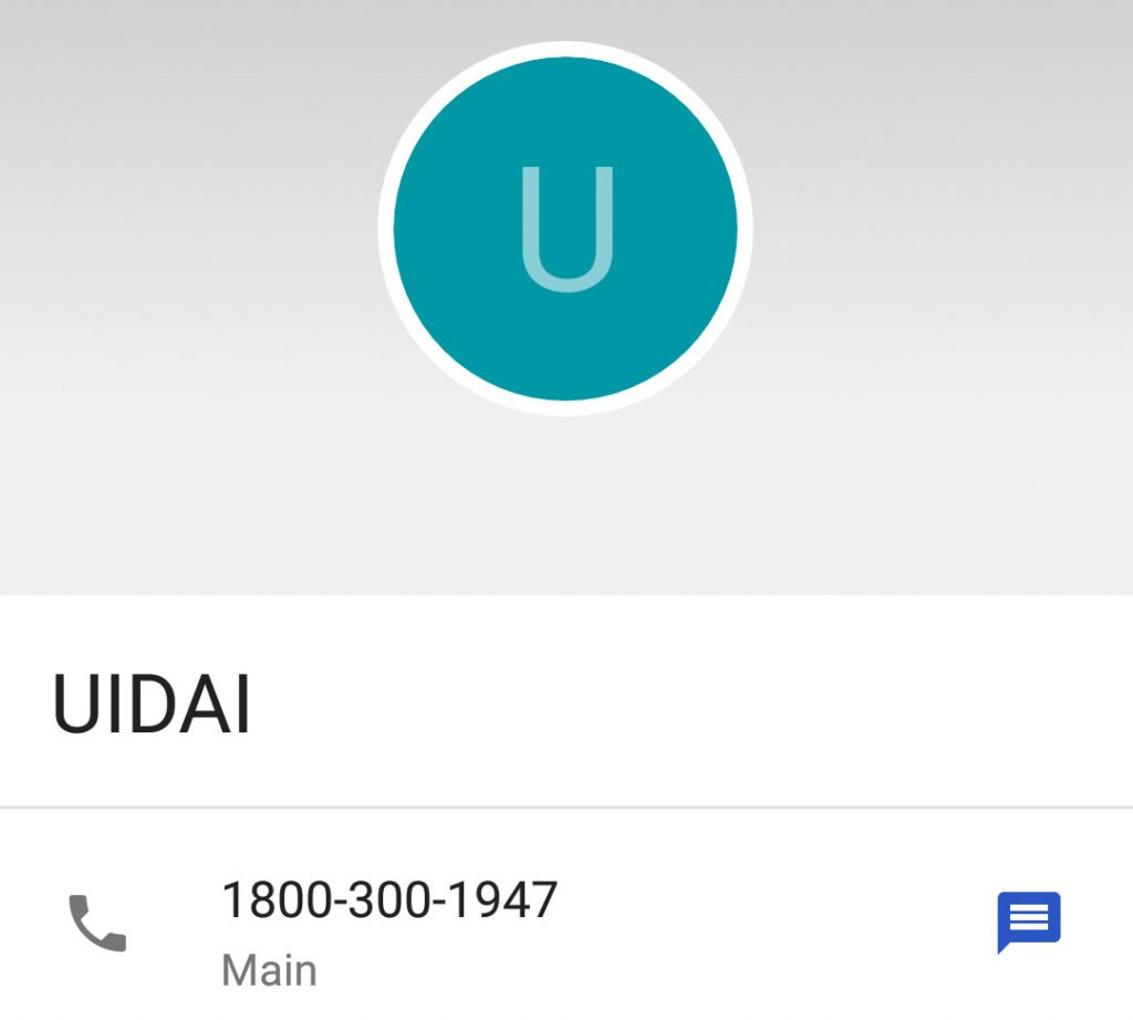 Google acknowledges it is responsible for UIDAI helpline number added to Android phonebook, will roll out a fix soon