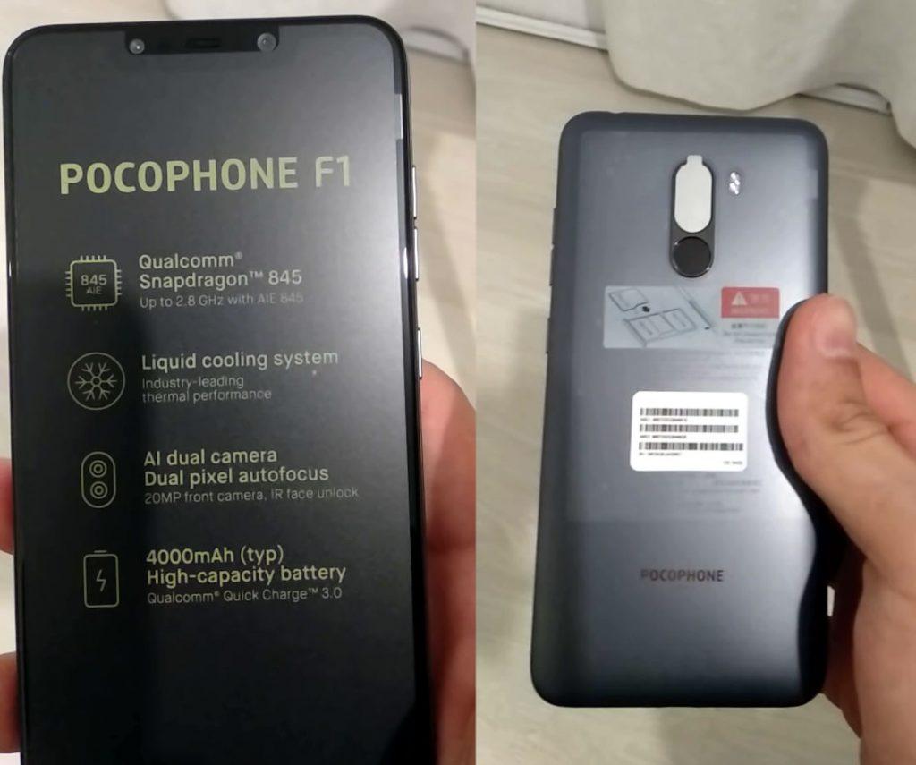 Xiaomi POCOPHONE F1 unboxing video confirms Snapdragon 845
