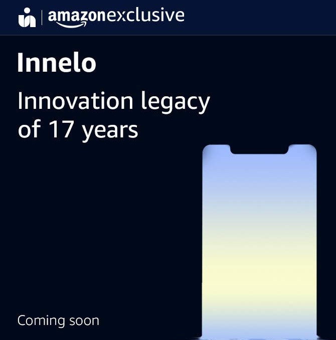 iVOOMi to launch a new smartphone with a notch under Innelo brand exclusively on Amazon India