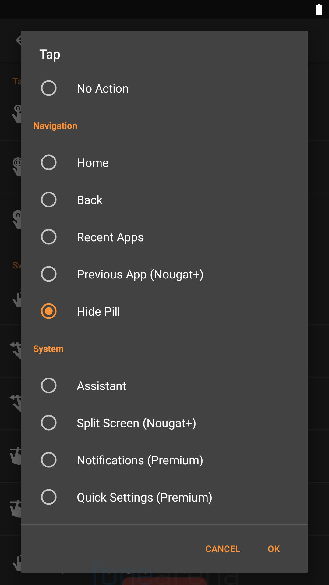 Get Android Pie-like Navigation gestures on any device