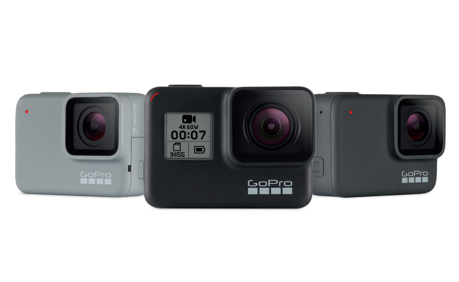 GoPro HERO7 Black with HyperSmooth Gimbal-like stabilization