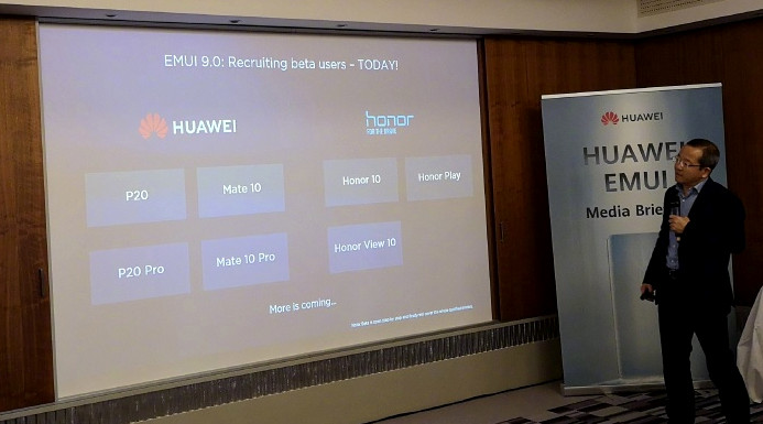 Huawei introduces EMUI 9 0 based on Android 9 0 (Pie) with