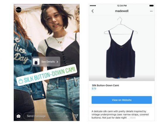 Instagram Shopping Stories
