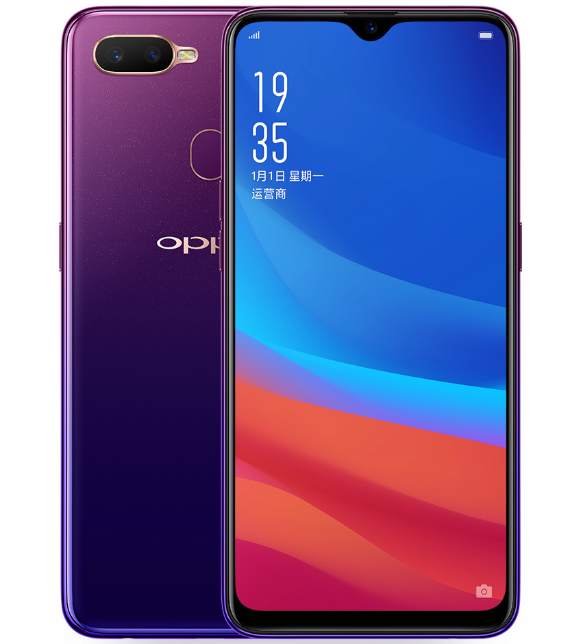 OPPO F9 with 6 3-inch Full HD+ display, dual rear cameras