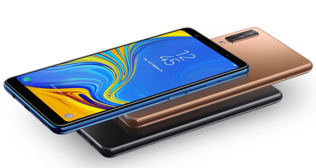 Samsung Galaxy A7 2018 With 6 Inch Fhd Super Amoled