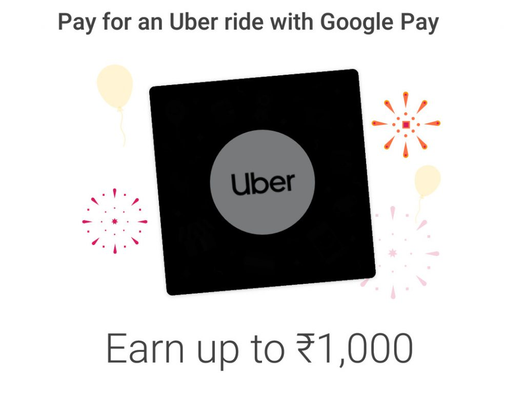 Now you can pay for Uber rides with Google Pay in India and