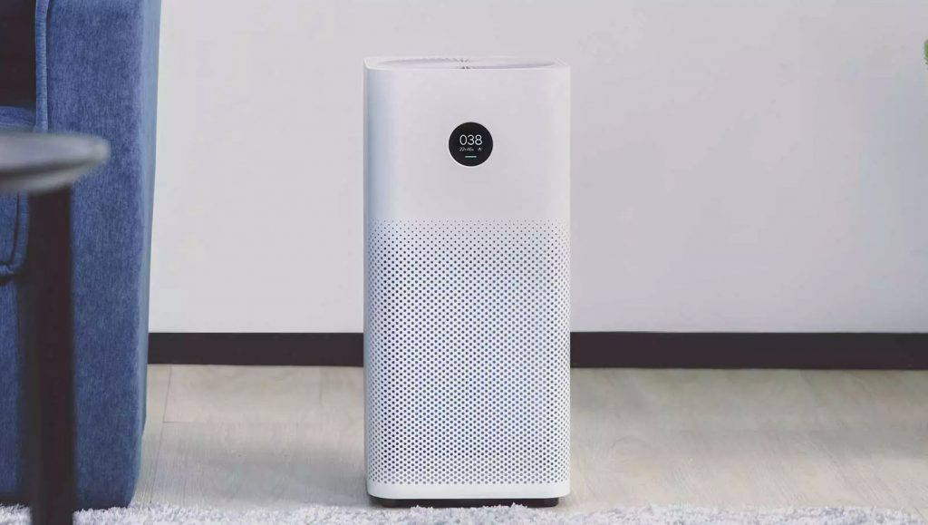 Xiaomi Mi Air Purifier 2s With Oled Display Laser