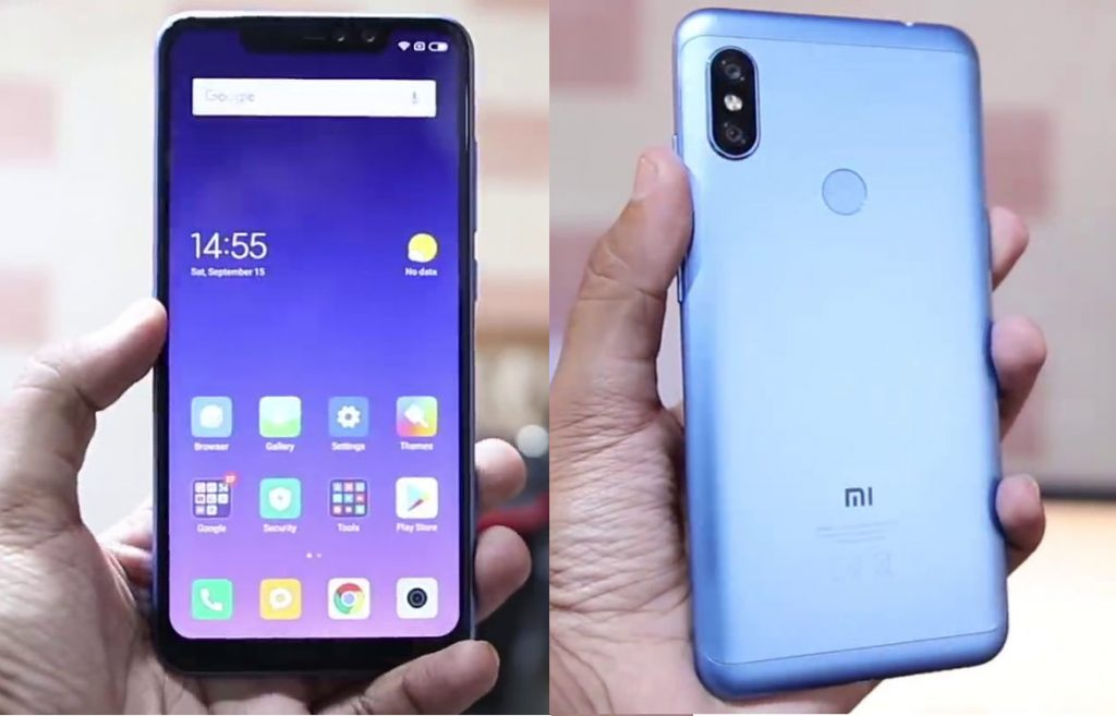 Xiaomi Redmi Note 6 Pro With 6 26 Inch 19 9 Fhd Display Snapdragon