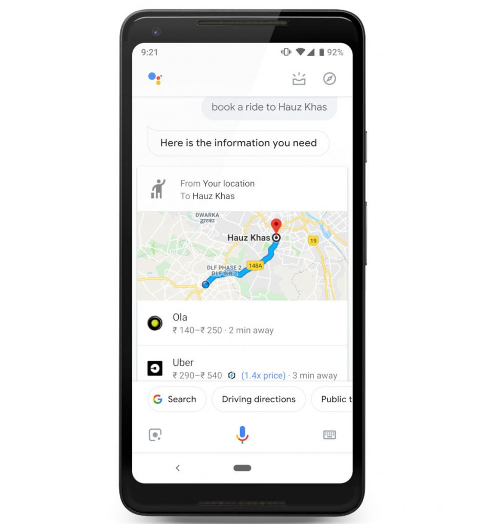 Go Jek Services: Google Assistant Can Now Book A Ride From Uber, Lyft, Ola