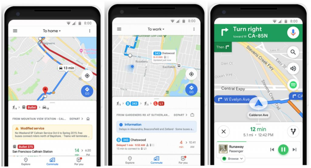 Google Maps Update Brings Real Time Public Transport Updates