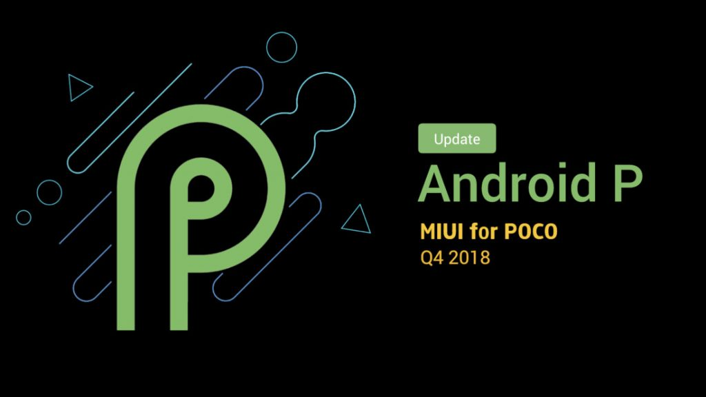 POCO F1 Android 9 0 Pie Global Public Beta update rolling