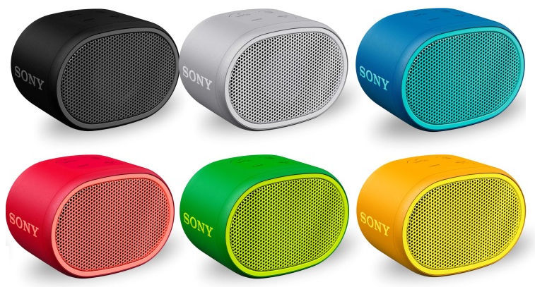 Sony XB01 Extra Bass portable Bluetooth water-resistant