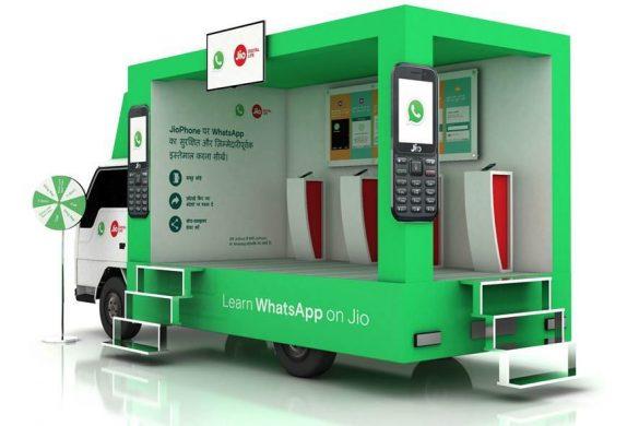 WhatsApp and Jio
