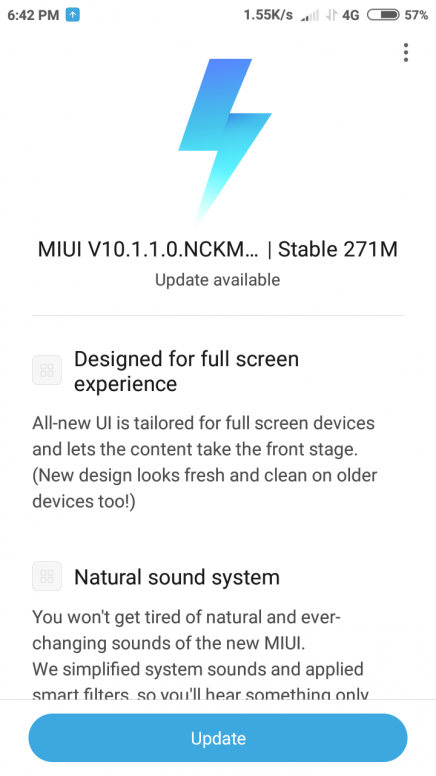 Xiaomi Redmi 5A MIUI 10 Stable OTA update starts rolling out