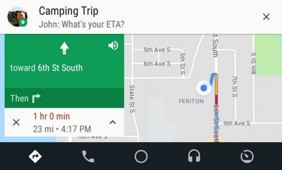Android Auto Messaging