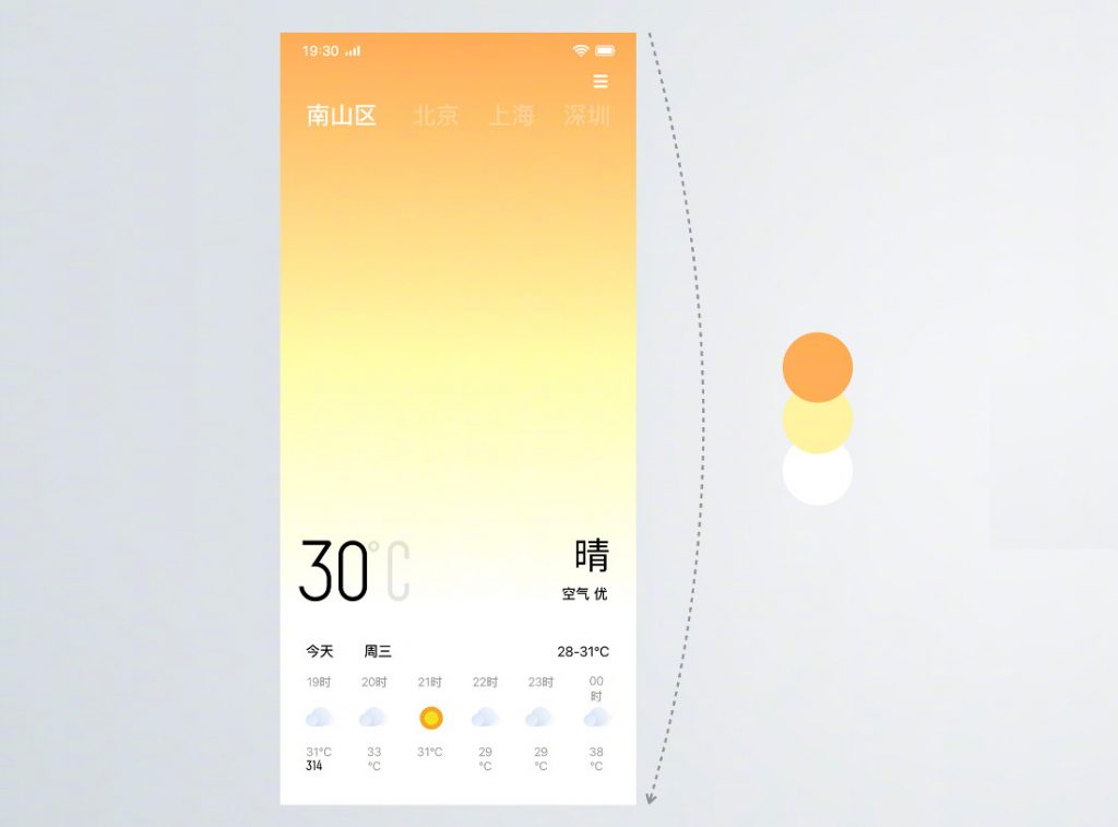 OPPO introduces ColorOS 6 with improved UI for full-screen