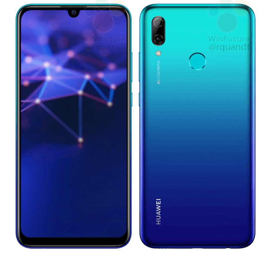 Huawei P Smart with 6.2-inch Full HD+ display, Kirin 710, AI dual rear cameras Android 9.0 Pie surfaces in press images