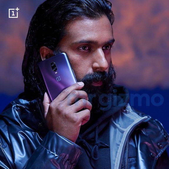 OnePlus 6TThunder Purple color