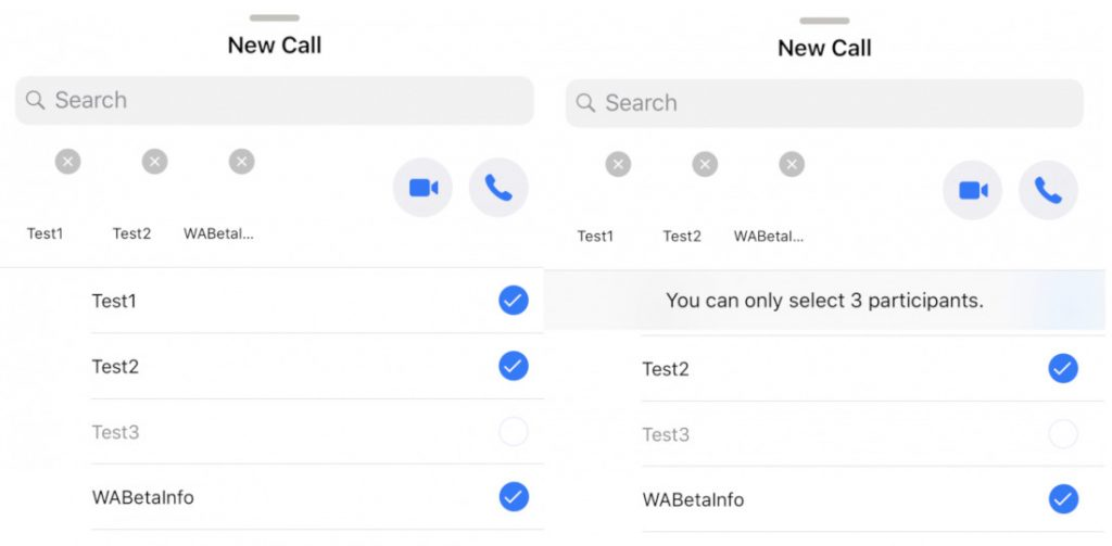 WhatsApp for iOS beta brings new group calling UI changes, ability to view videos from notifications
