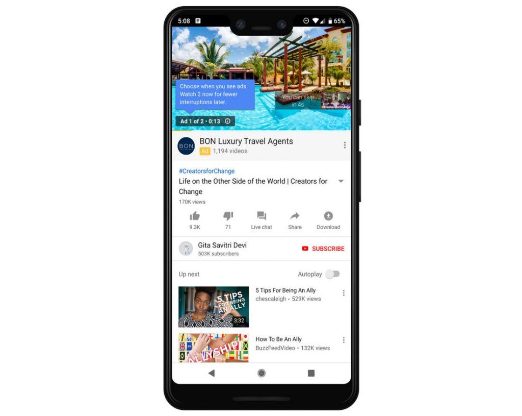 youtube watch videos without signing in