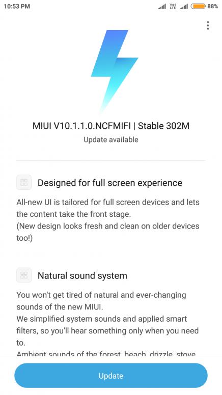 Xiaomi Redmi Note 4 MIUI 10 Stable OTA update finally starts rolling