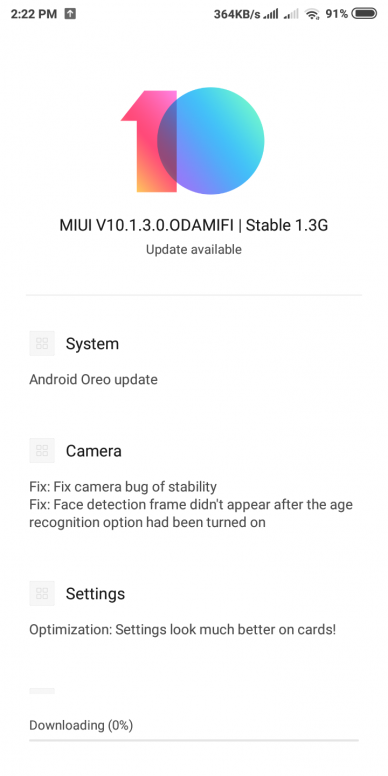Xiaomi Redmi 5 Android 8 1 Oreo Stable update with Dual 4G