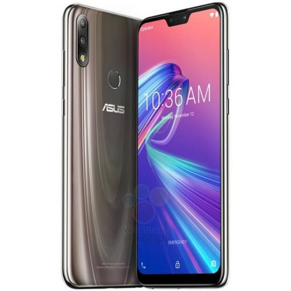 Asus Zenfone Max Pro M2 with Snapdragon 660, 6-inch FHD+ display and Asus Zenfone Max M2 surface in press renders