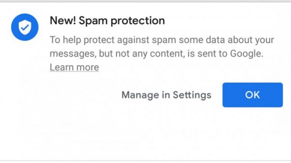 Android Messages Spam Protection finally starts rolling out