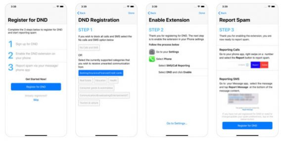 Apple finally implements Indian Govt's TRAI DND – Do Not Disturb app on iPhone