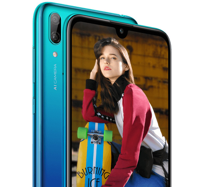 Huawei Y7 2019 with 6.26-inch Dewdrop notch display, AI dual rear cameras, 4000mAh battery surfaces