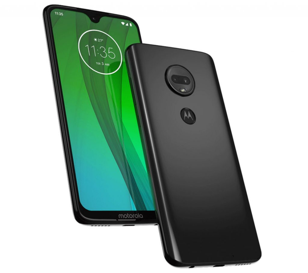 Moto G7 Plus, G7, G7 Play and G7 Power with a notch surface in new renders [Update: More renders and price]