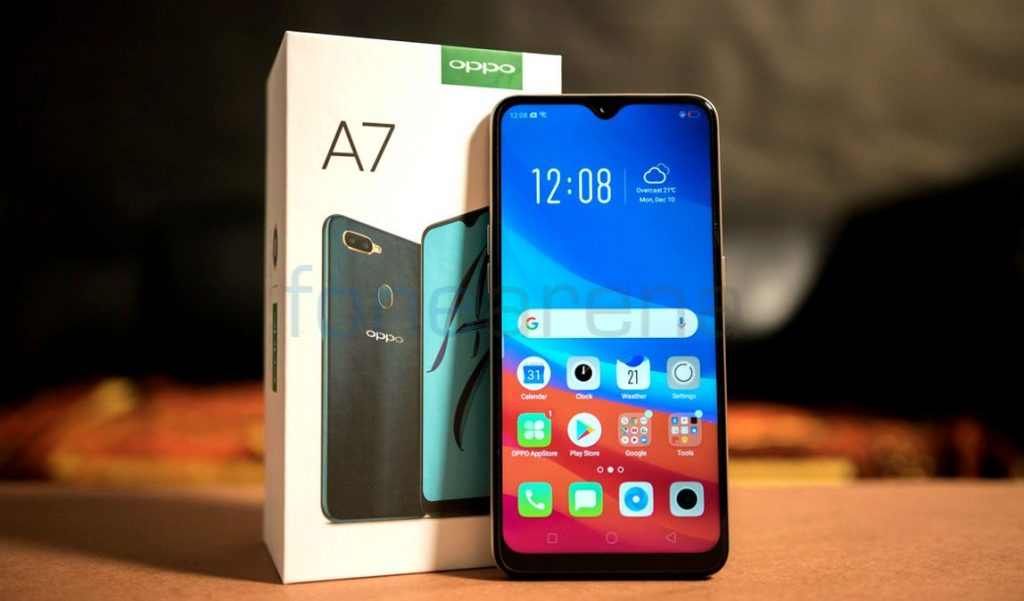OPPO A7 Unboxing and First Impressions