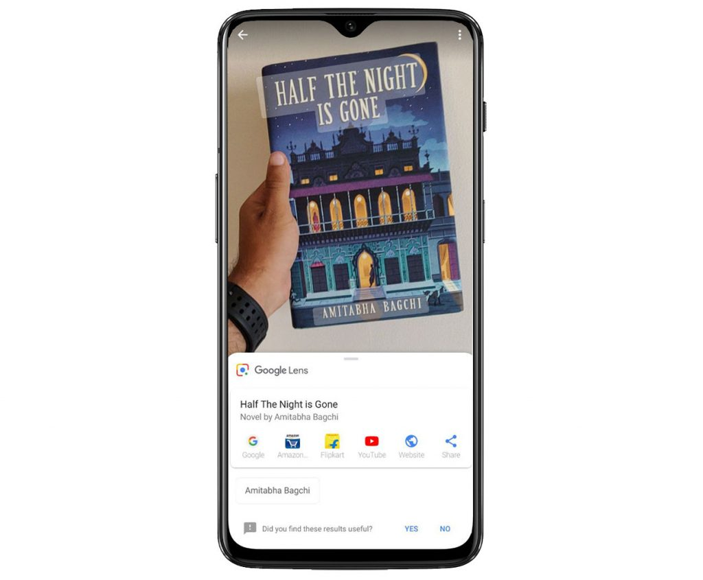 OnePlus 6T has a smarter camera with Google Lens powered by AI