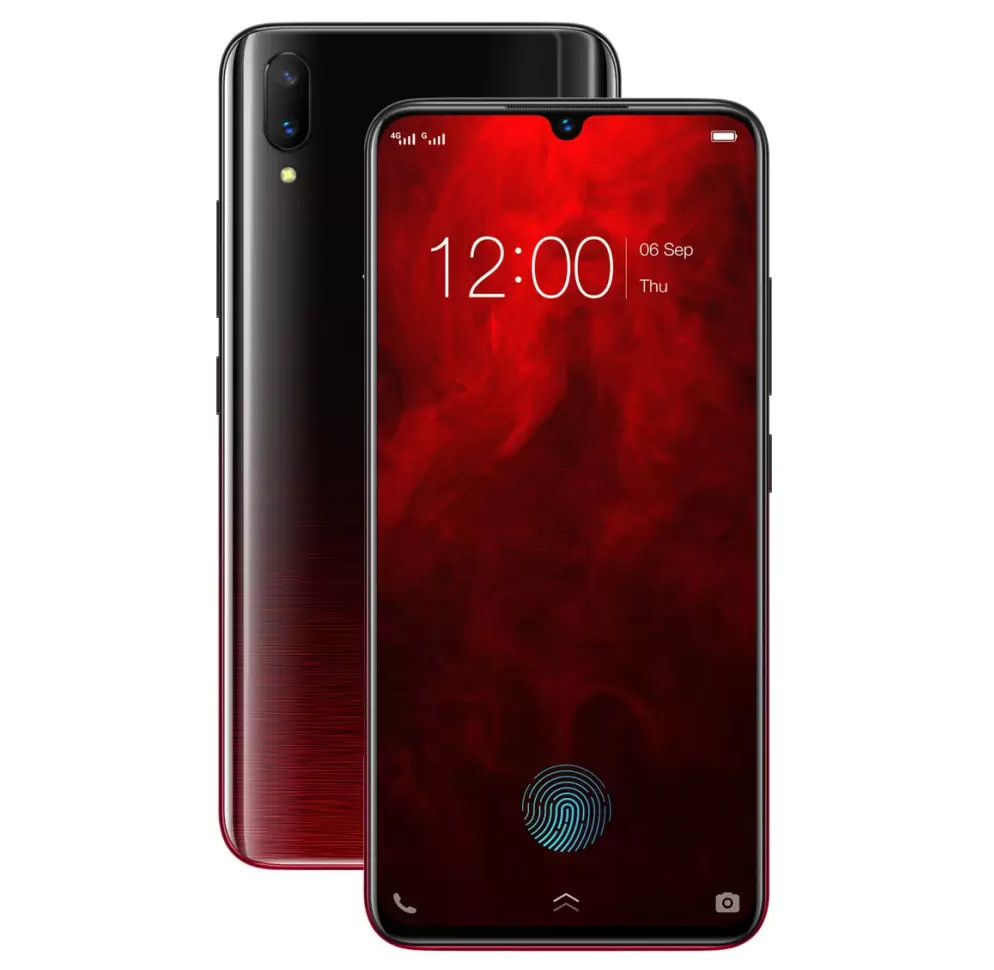 Vivo V11 Pro Supernova Red Edition Launched In India