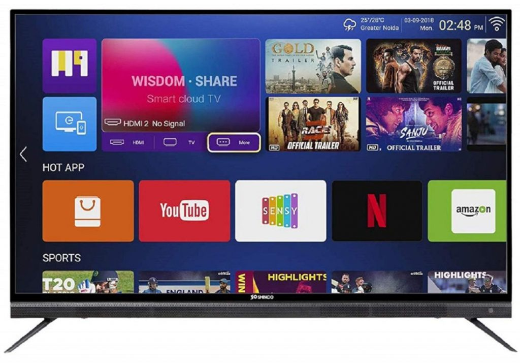Shinco India launches 65-inch 4K Smart LED TV