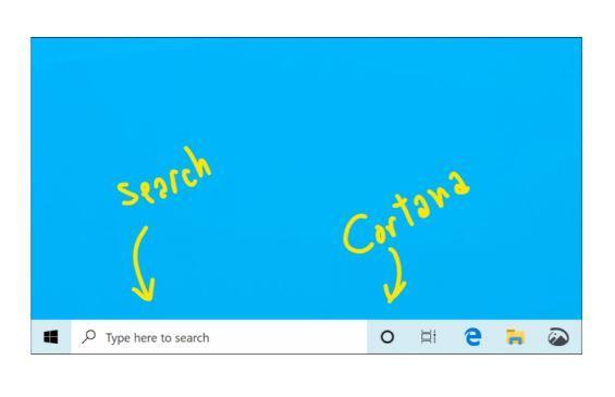 Windows 10 Search and Cortana