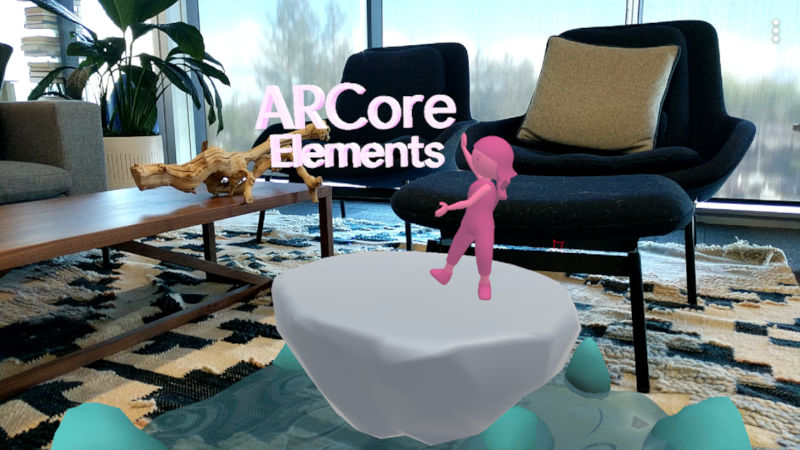 ARCore V1.7 update brings Augmented Faces APIs, ARCore Elements and UI improvements