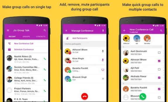 Jio Group Talk conference calling app released for Android