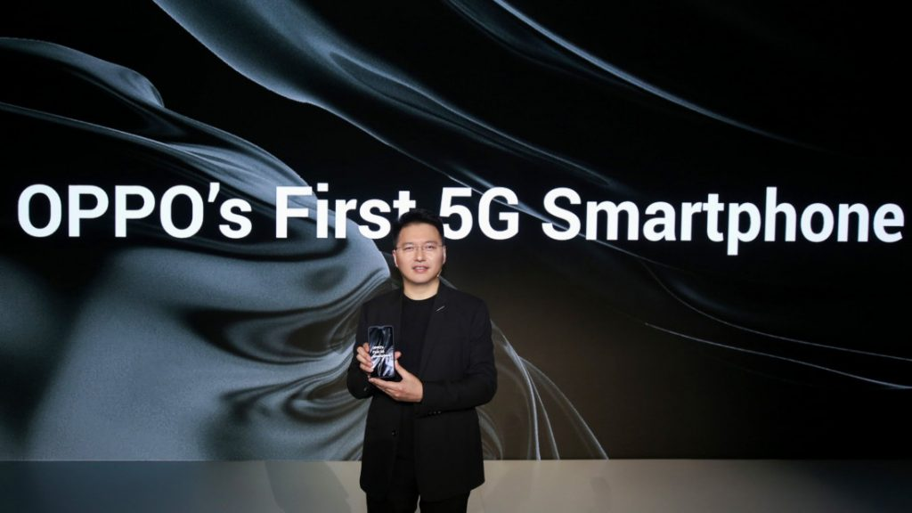 OPPO unveils its first 5G smartphone powered by Qualcomm Snapdragon 855