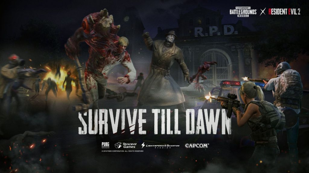 PUBG Mobile 0 11 update with Resident Evil 2 Zombie: Survive