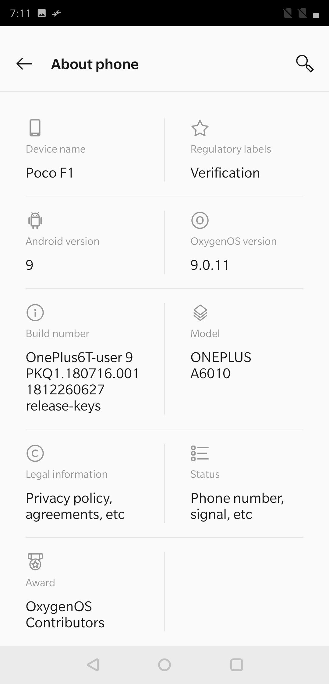 Here's how you can install OxygenOS 9 0 on Poco F1