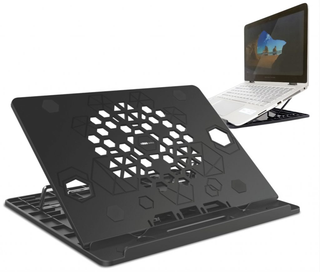 Portronics My Buddy Hexa Portable Laptop Stand launched for Rs. 699