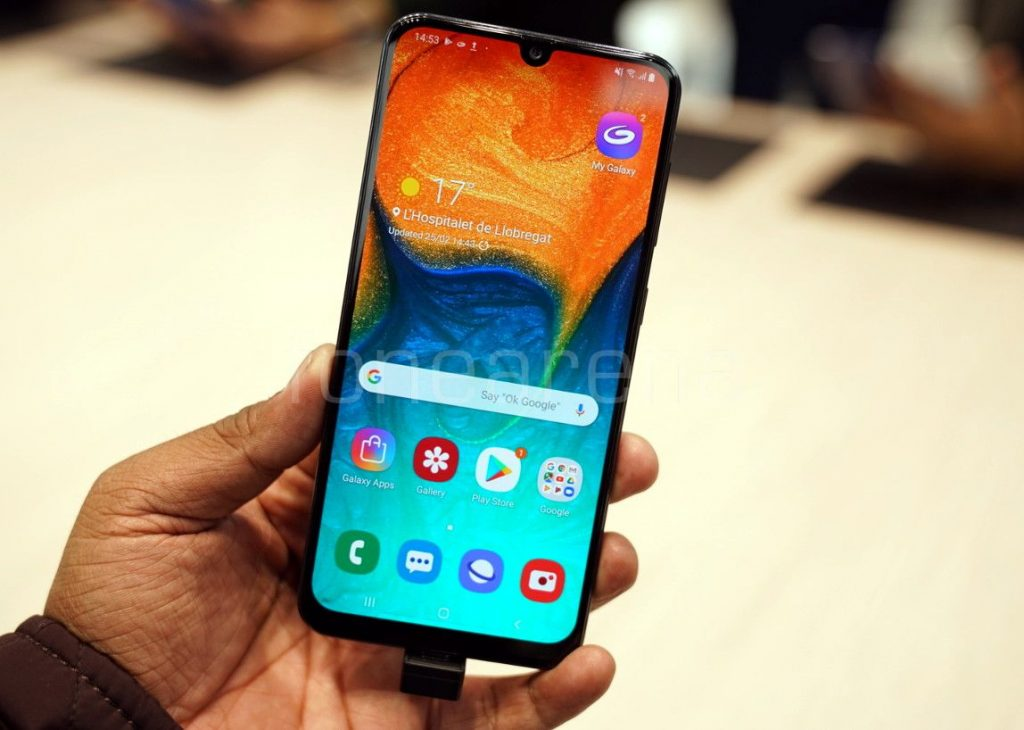 Samsung Galaxy A30 Hands On And Photo Gallery
