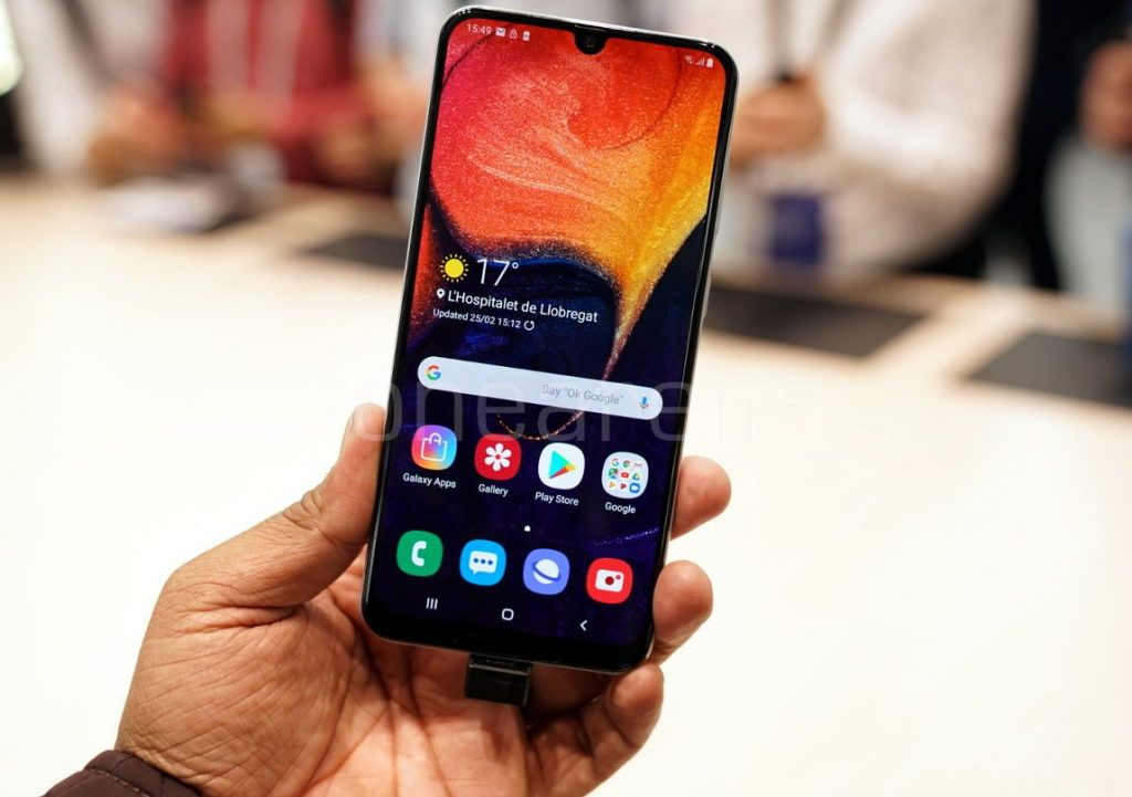 Samsung Galaxy A50 Hands On And Photo Gallery