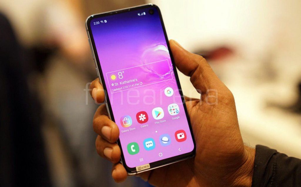 Samsung Galaxy S10e Hands On and Photo Gallery