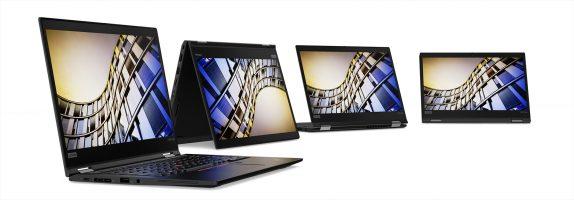 ThinkPad portfolio- the T490s, T490, T590, X390 and X390 Yoga