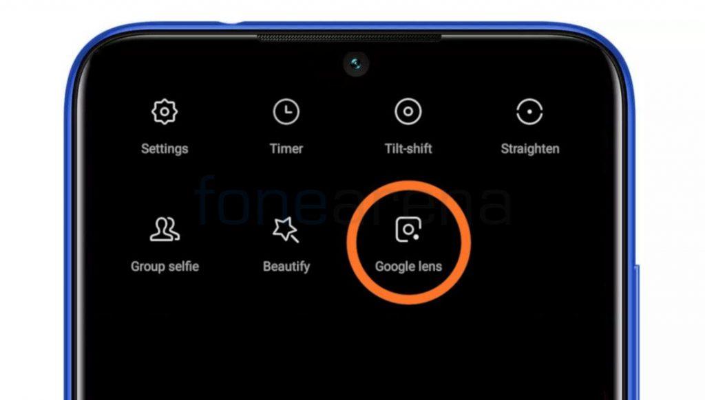 Xiaomi integrates Google Lens into MIUI Camera App